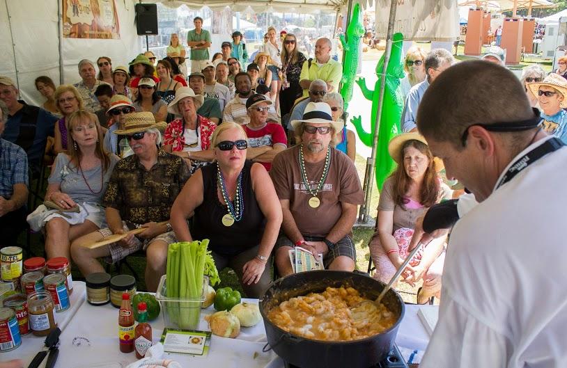 Taste of Louisiana Cooking Demos
